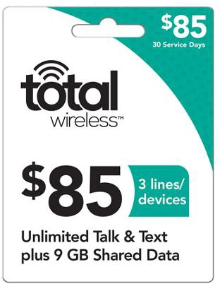 Free Total Wireless Reload Codes